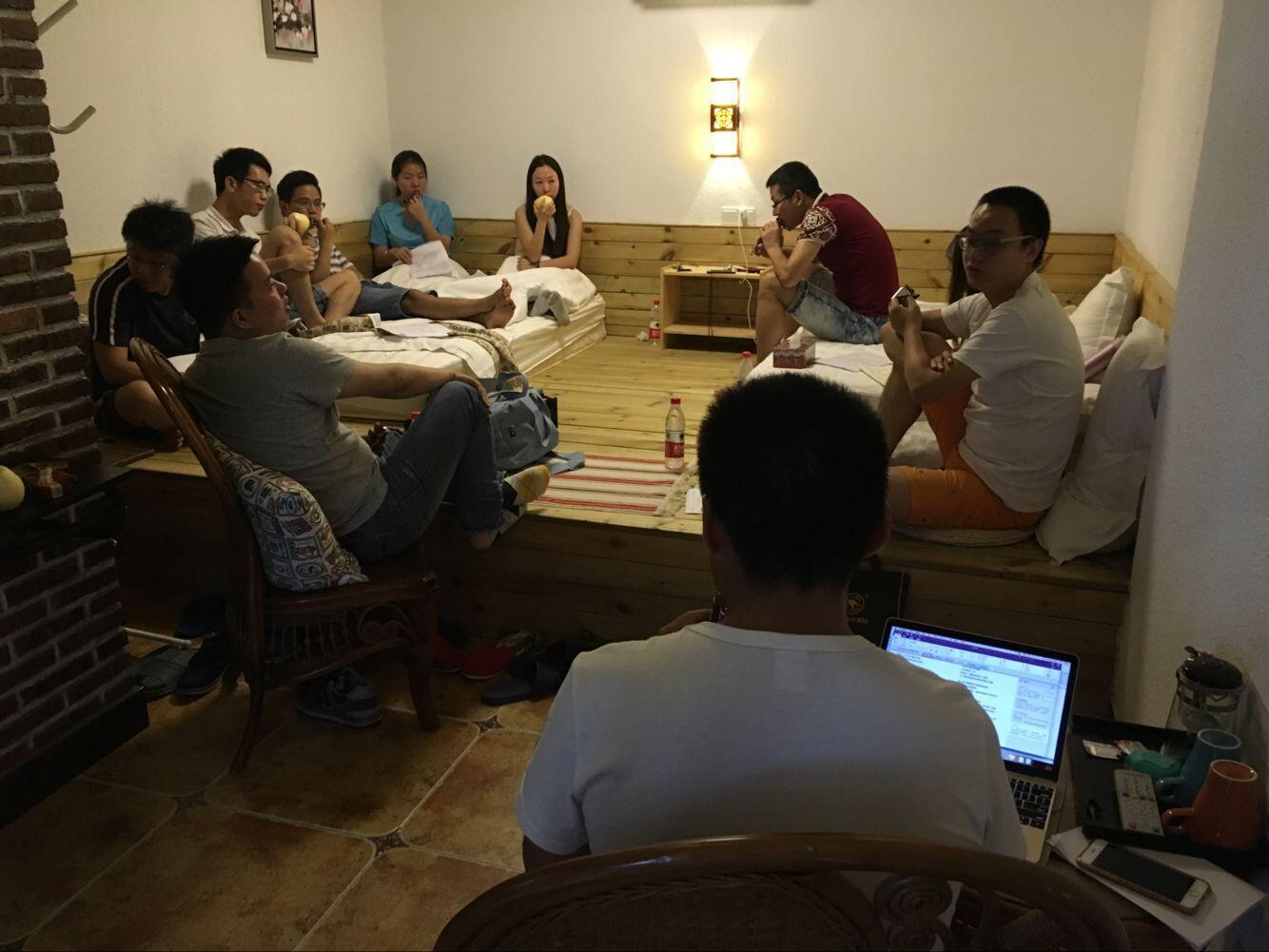 天下数据团队拓展经营会议