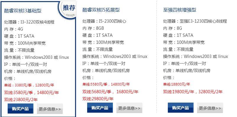 深圳电信机房服务器租用好吗